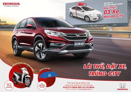 Honda Viet Nam tiep tuc chuong trinh 'Lai thu, trung that' - Anh 1
