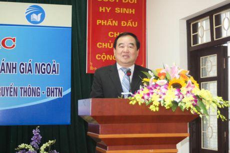 Thuc hien kiem dinh chat luong giao duc cap co so tai Dai hoc Thai Nguyen - Anh 1