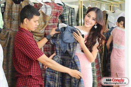 Nam Em tat bat voi Vietnam International Fashion Week Thu - Dong - Anh 6