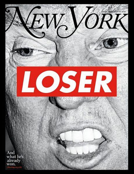 Ty phu Trump xuat hien tren trang bia tap chi New York voi tieu de 'ke that bai' - Anh 1