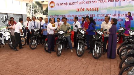 TP HCM tong ket 5 nam thuc hien phong trao '3 tiet kiem – 3 tuong tro' - Anh 3