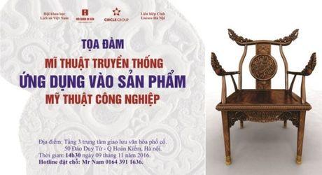 """Trien lam """"Di san Viet Nam - Goc nhin moi"""" dien ra tu 3/11 - Anh 4"""