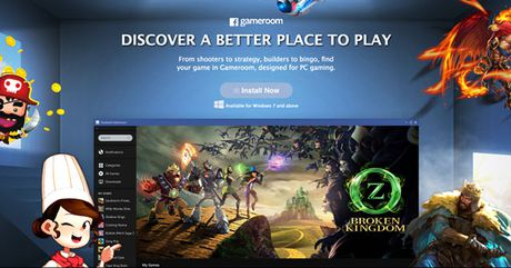 Facebook trinh lang Gameroom, doi dau Steam - Anh 2