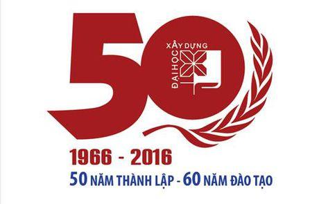 Truong Dai hoc Xay dung ky niem 60 nam dao tao, 50 nam thanh lap - Anh 1