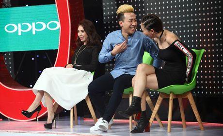 Vang Hari Won, Tran Thanh tay trong tay cung Toc Tien - Anh 2