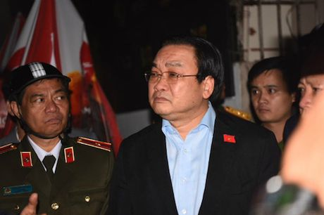 Vu chay o pho Tran Thai Tong: Bi thu Ha Noi noi gi? - Anh 1