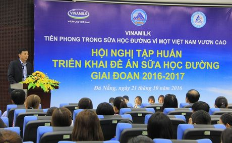 Vinamilk di dau trong chuong trinh Sua hoc duong, vi mot Viet Nam vuon cao - Anh 2