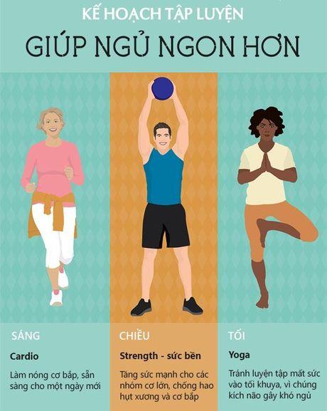 Hay tap the duc dung cach de co giac ngu ngon - Anh 2
