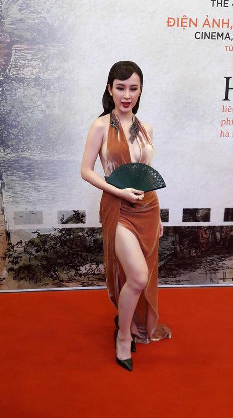 Angela Phuong Trinh goi cam noi bat giua dan sao Viet tren tham do LHP Quoc te Ha Noi 2016 - Anh 3