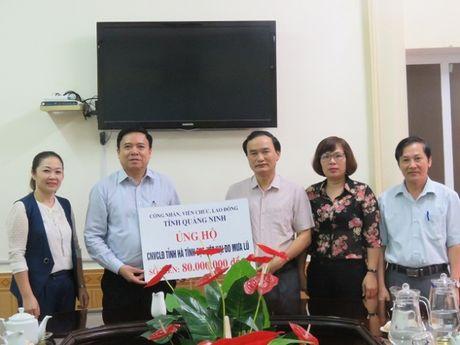 LDLD Quang Ninh: Ho tro 80 trieu dong giup CNVCLD Ha Tinh vuot qua kho khan - Anh 1