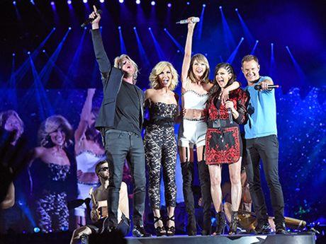 Taylor Swift sang tac ca khuc 'ke toi' tinh cu - Anh 1