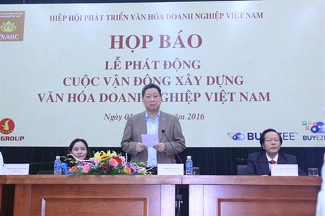 'Phat dong xay dung van hoa doanh nghiep Viet Nam' - Anh 1