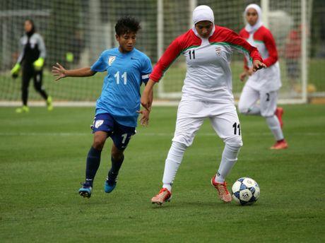 Vong loai U19 nu chau A 2017: Iran cam hoa An Do - Anh 1