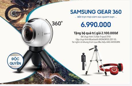 Vien Thong A doc quyen ban Samsung Gear 360, tang qua 2,1 trieu dong - Anh 1