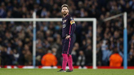 Messi mo ty so, Barca van thua nguoc 1-3 Man City - Anh 15