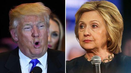 Bat ngo dan diem Clinton, Trump thang tien cac bang Dan chu - Anh 1