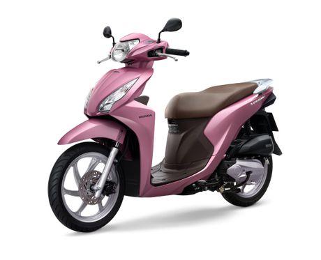 Honda Viet Nam gioi thieu mau xe Vision moi - Anh 1