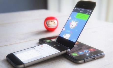 Apple dang bi mat thu nghiem iPhone nap gap - Anh 1