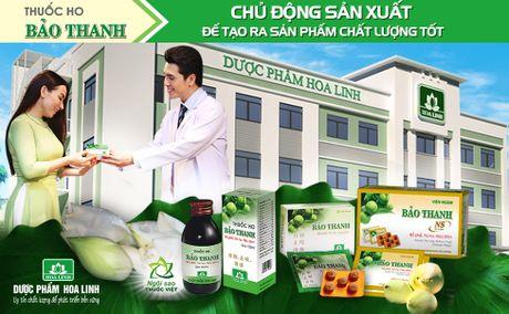 Thuoc ho Bao Thanh - Chu dong san xuat de tao ra san pham chat luong tot - Anh 1