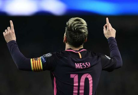 Barca thua tran, Messi van pha ky luc o Champions League - Anh 1