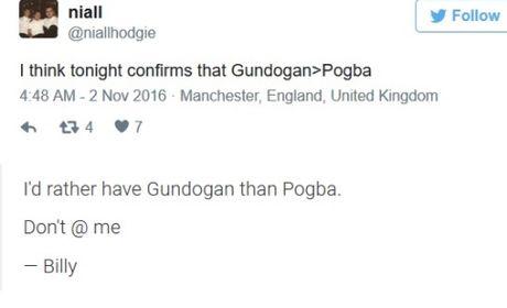 Pogba bi cong dong mang beu rieu khi Guendogan lien tuc toa sang o Man City - Anh 2