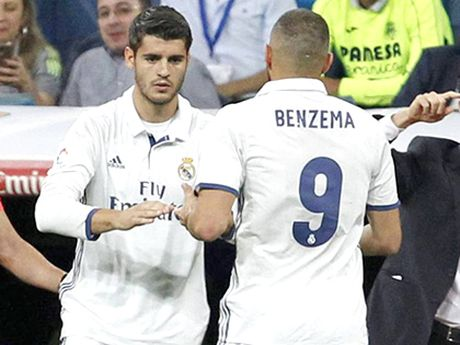 Benzema duoc uu ai hon Morata vi Perez? - Anh 1