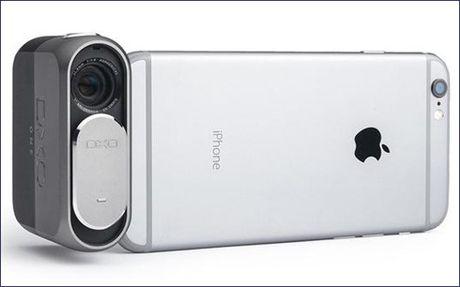 Phu kien danh cho iPhone: May chup anh sieu nho DxO One - Anh 1