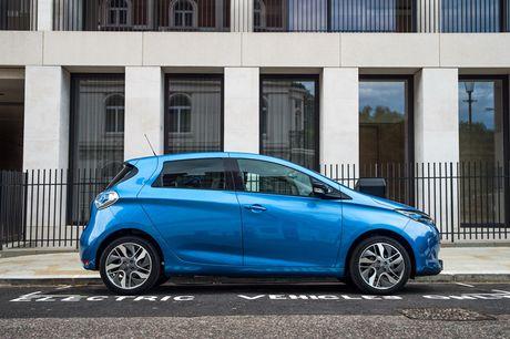Renault Zoe 2017 chao ban o Anh voi gia sieu re - Anh 3