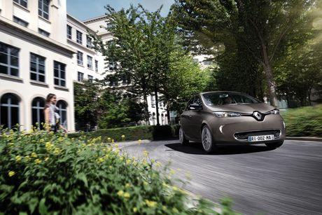Renault Zoe 2017 chao ban o Anh voi gia sieu re - Anh 6