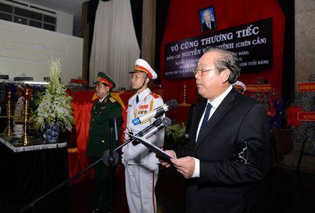 Tien dua dong chi Nguyen Van Chinh ve noi an nghi cuoi cung - Anh 2