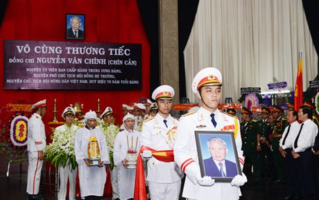Tien dua dong chi Nguyen Van Chinh ve noi an nghi cuoi cung - Anh 8