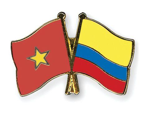 Trien khai cac bien phap thuc day quan he Viet Nam-Colombia - Anh 1