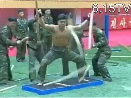 Linh Trieu Tien tap luyen khac nghiet nhu vo su - Anh 1