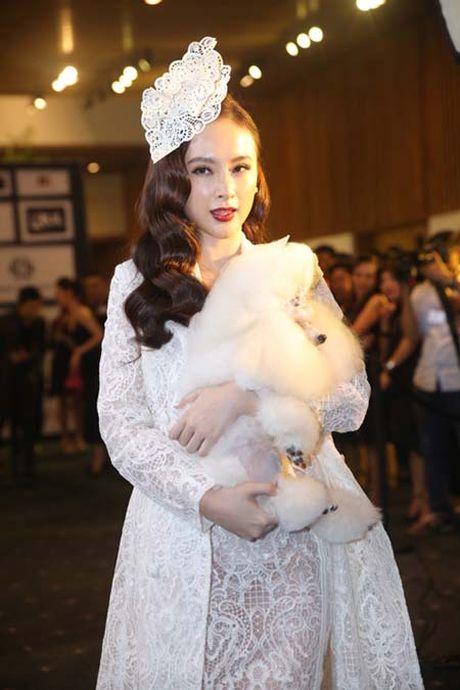Angela Phuong Trinh het om cho lai den mua quat tren tham do - Anh 4