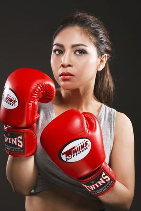 Soi do sexy lan xa cua 'nu hoang boxing' Hoang Yen My - Anh 1