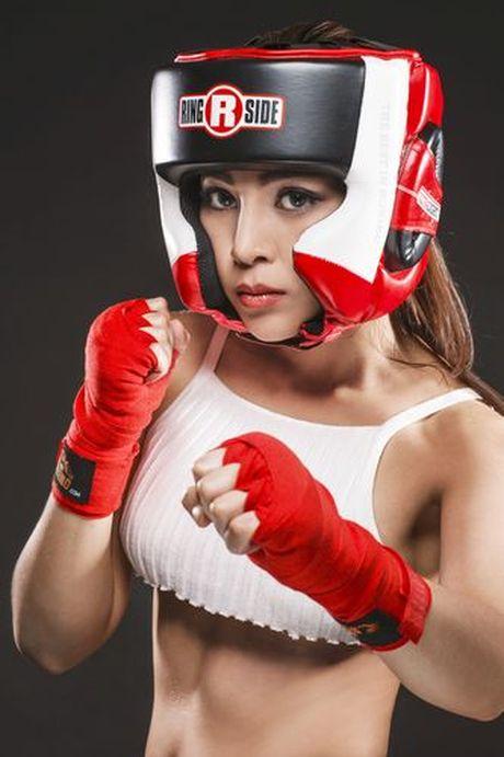 Soi do sexy lan xa cua 'nu hoang boxing' Hoang Yen My - Anh 2