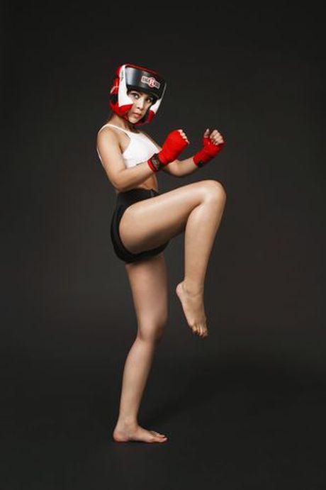 Soi do sexy lan xa cua 'nu hoang boxing' Hoang Yen My - Anh 8