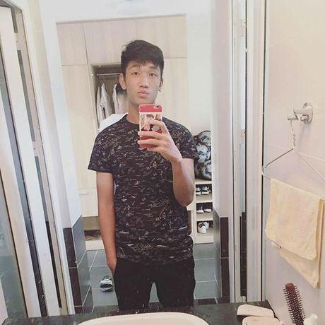 'Hot boy' U19 Viet Nam tiet lo ban gai hon tuoi cuc xinh - Anh 2