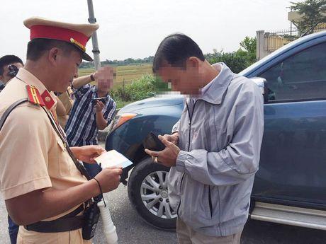 Bat dau xu phat qua camera tren cao toc Noi Bai-Lao Cai - Anh 1