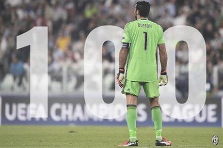 Buffon can moc '100' trong ngay buon cua Juventus - Anh 1