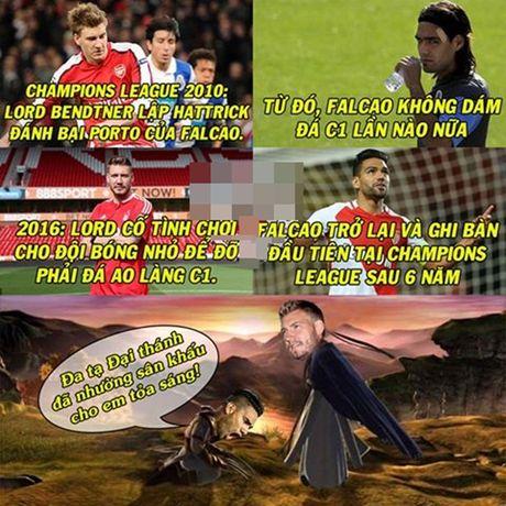 Anh che: Ngai A No ban phuoc lanh cho 'Manh ho'; Javier-Van-Falcao lo bi kiep ghi ban son son - Anh 5