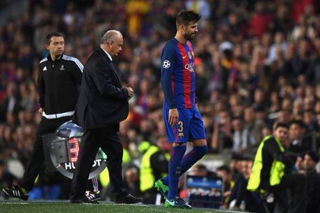 Pique mang tin vui bat ngo cho Barca - Anh 1