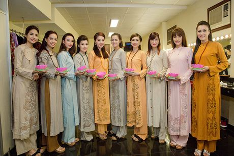 Ngoc Diem do sac cung Hoa hau Bien Ninh Hoang Ngan - Anh 7