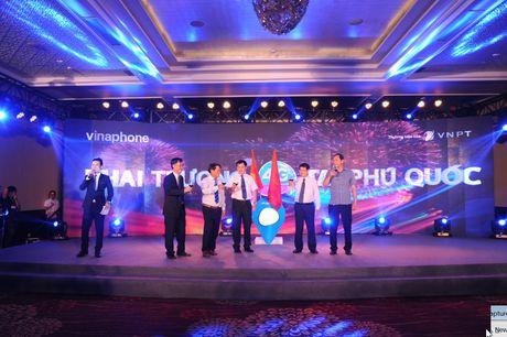 Soi dong le khai truong VinaPhone 4G tai dao ngoc Phu Quoc - Anh 11