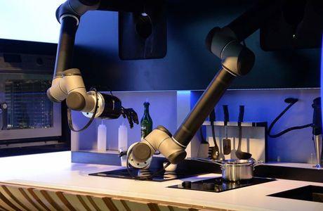 Robot dang dan thay the con nguoi trong cuoc song thuong ngay - Anh 2