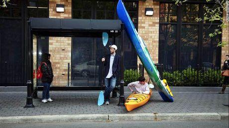 Di lam bang thuyen kayak - Anh 1