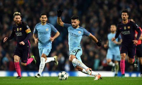 Manchester City thang Barcelona 3-1: Su khac biet tu Sergio Aguero - Anh 1