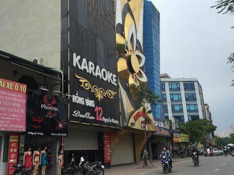 Cau Giay co bao nhieu quan karaoke hoat dong khong phep? - Anh 1