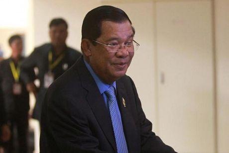Thu tuong Campuchia ung ho ong Trump - Anh 1