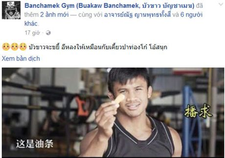 "Dai chien: ""Thanh Muay Thai"" the ""nghien nat"" Yi Long - Anh 1"